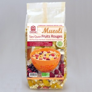 Muesli Sans Gluten Fruits Rouge