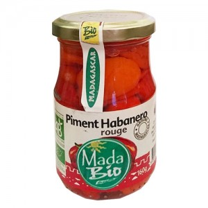 Piment Habanero rouge 220g